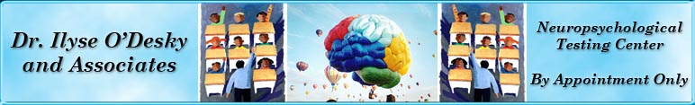 Neuropsychological Testing Center specializing in Pediatrics - Welcome!